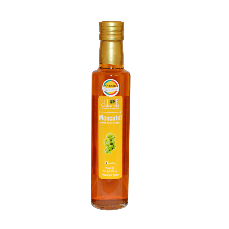 Dolce Vita Moscatel Sweet Wine Vinegar 250ml from Italy in India