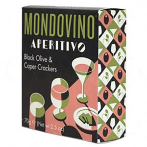 Mondovino Black Olive Crackers