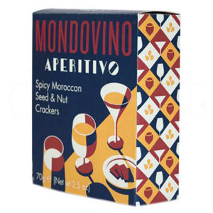 Mondovino Spicy Moroccan Seed & Nut Crackers