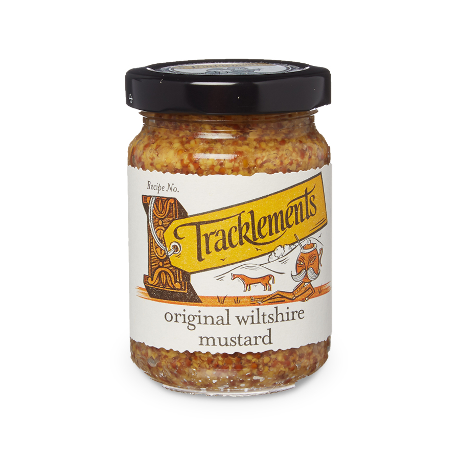 Tracklement English Original Wiltshire Mustard 140gm from France in India