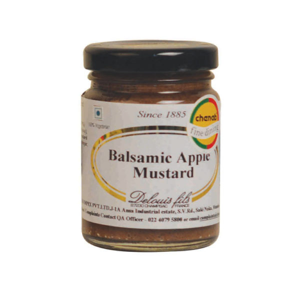 Imported French Balsamic Apple Mustard from France in India
