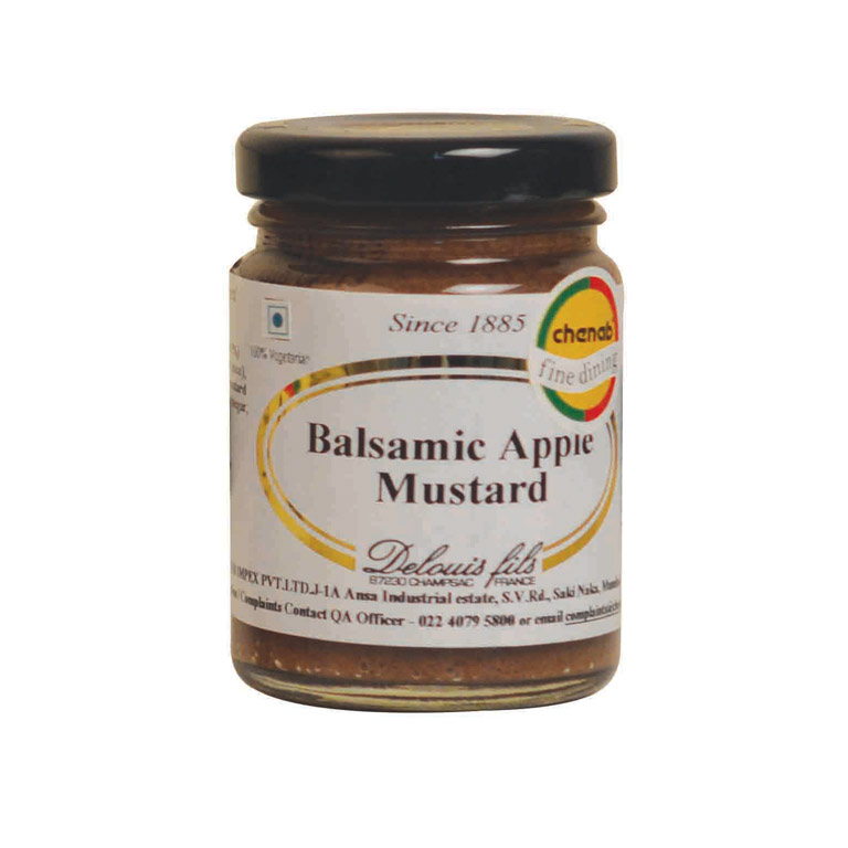Delouis Balsamic Apple Mustard 100gm from France in India