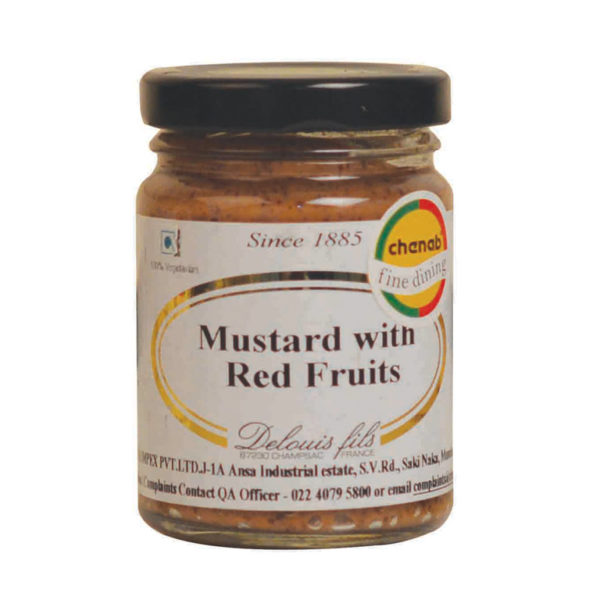 Imported French Red Fruit Mustard from France in India