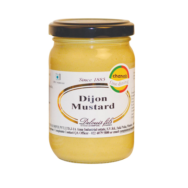 Delouis Award Winning French Strong Dijon Mustard 200gm from France in India