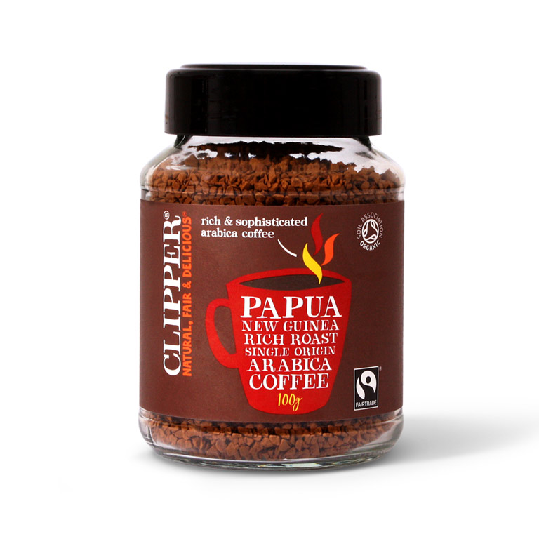 Clipper Papua New Guinea Instant Coffee 100gm from UK in India