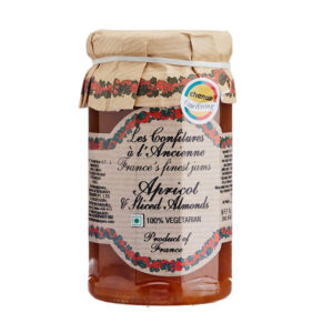 Apricot, Almond Jam 270g – Confitures