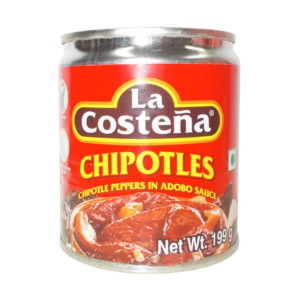 Chipotle Peppers in Adobo Sauce 199gm – La Costena