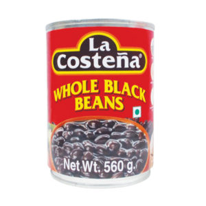 La Costena Mexican Whole Black Beans 560gm from Mexico in India