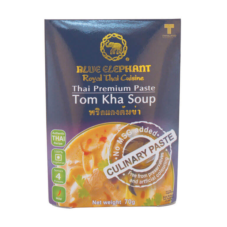 Thai Gluten Free Tom Kha Soup Paste 70g – Blue Elephant
