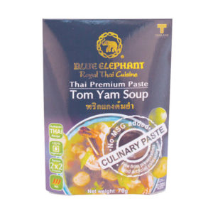 Thai Gluten Free Tom Yum Soup Paste 70g – Blue Elephant