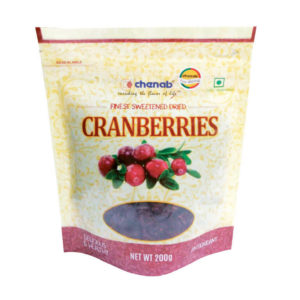 Premium Dried Sliced Canadian Cranberries 200g – Chenab
