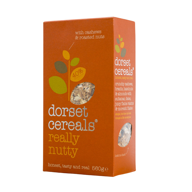 Dorset Cashews & Roasted Nuts Cereals 560gm from UK in India