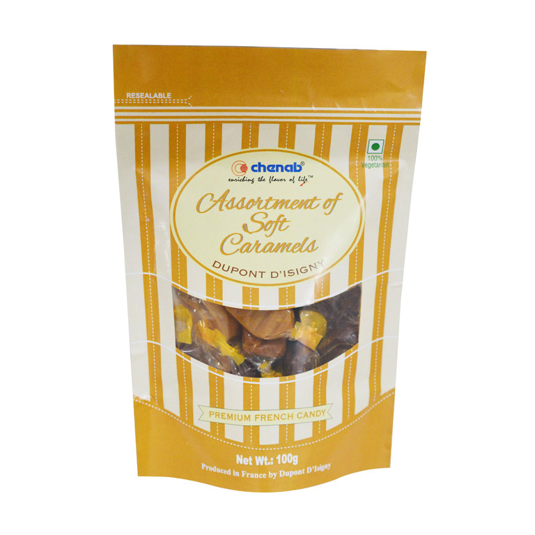 Assorted Soft Caramels Candy Confectionery 100g – Dupont D' Isingy