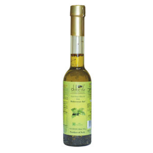 Flavored extra virgin olive oil with Basil 250ml – Dolce Vita