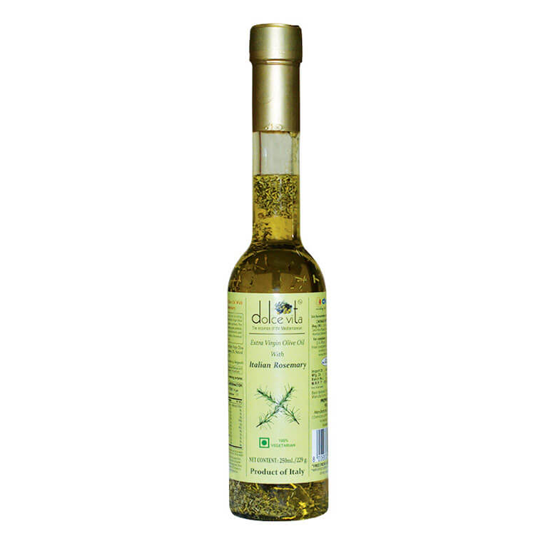 Flavored extra virgin olive oil with Rosemary 250ml – Dolce Vita