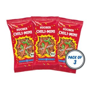 Huober Organic Chili Mini, 75g (Pack of 3)