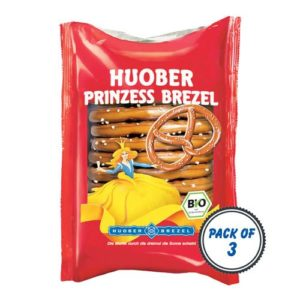 Huober Organic Princess Pretzel, 125g (Pack of 3)